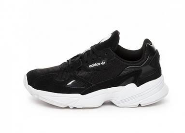 Женские кроссовки Adidas Falcon W black