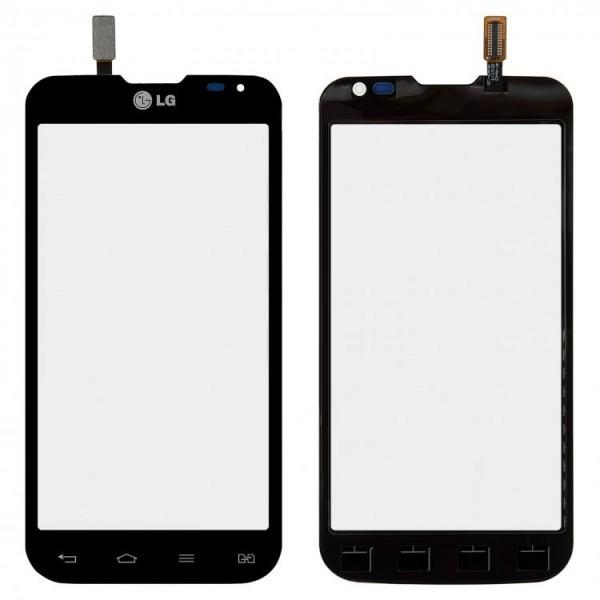 Сенсор (тачскрин) для LG D410 Optimus L90 Dual Sim черный