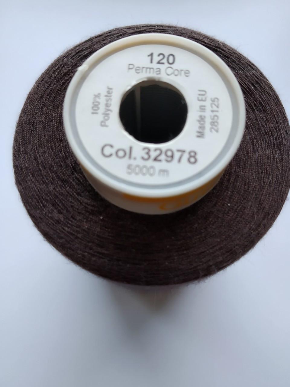 Нитки армовані  Gutermann Perma Core 120 / 5000м кол32978