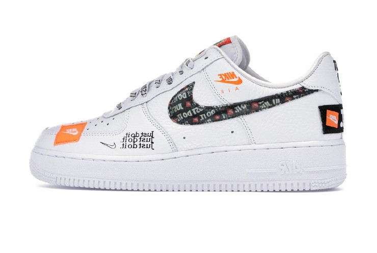 Мужские кроссовки Nike Air Force 1 White Just Do It Pack