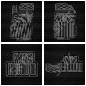 Коврики автомобильные Chevrolet Aveo 2011- SRTK
