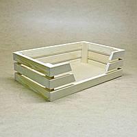 Лежак деревянный для собаки Лессер 40х30 бланже