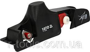 Рубанок для снятия фаски с гипсокартона 60x240 мм Yato YT-76260