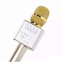 Беспроводной караоке bluetooth микрофон-колонка Q9