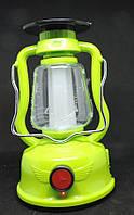 Лампа светодиодная на солнечной панели.Фонарь кемпинговый переносной 24 SMD LED., фото 1