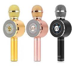Безпровідний мікрофон для караоке WS-668