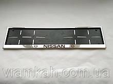 Номерна рамка для авто Nissan