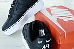 Мужские кроссовки Nike Air Force 1 '07 SE Premium (Черно-белые), фото 8