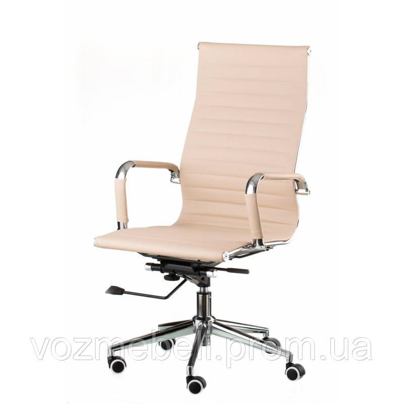 Кресло Solano artleather beige (E1533)