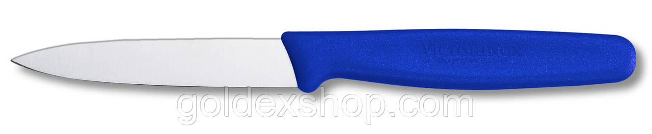 Нож кухонный Victorinox (лезвие: 80 мм), синий 5.0602