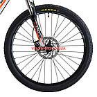 """Горный велосипед Cyclone LLX 27.5 дюймов 15,5"""" бело-оранжевый, фото 3"""