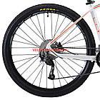 """Горный велосипед Cyclone LLX 27.5 дюймов 15,5"""" бело-оранжевый, фото 6"""