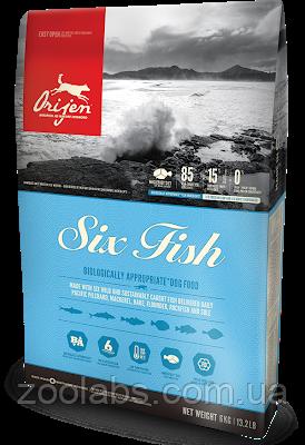Сухой корм Orijen для собак | Orijen Six Fish Dog 11,4 кг