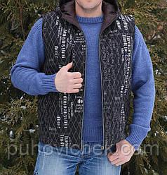 Модная мужская жилетка хорошего качества от производителя