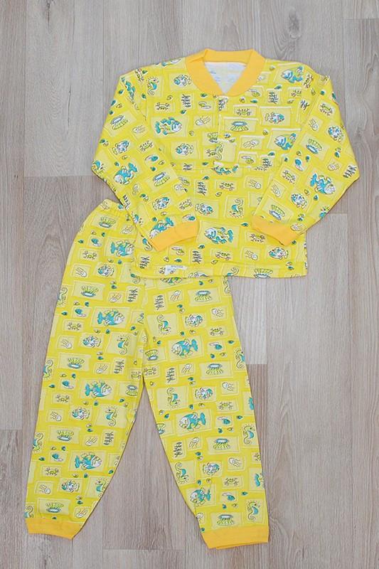 Пижама детская на кнопках для девочек(100% хлопок)
