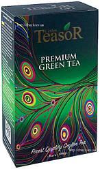 Чай Teasor Green Tea GP1 100g - зеленый чай Тисор Пушечный Порох без добавок 100 г