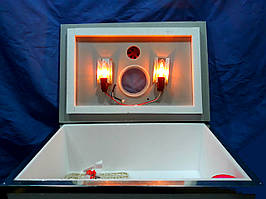 """Инкубатор """"Наседка"""" 140 яиц (Механический переворот). Аналоговый термометр."""