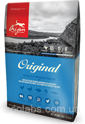 Сухой корм Orijen для собак | Orijen Original Dog 2 кг