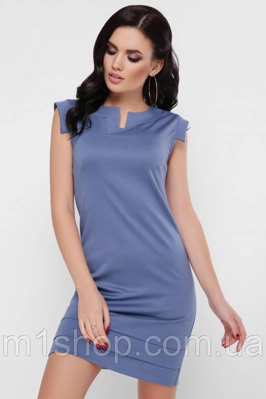 Женское короткое платье без рукавов (Susanna fup)