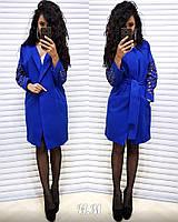 Женское с узорами кашемировое пальто РАЗНЫЕ ЦВЕТА код. Н405-0560