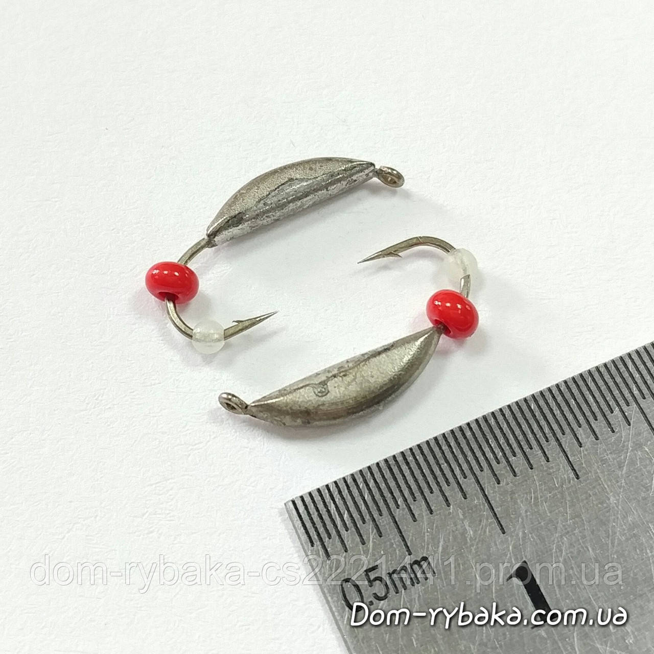 Мормышка вольфрамовая полумесяц #1840 ушко 0.9гр никель(1110504)