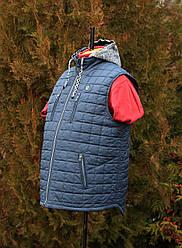 Модная мужская жилетка большого размера молодежная
