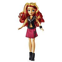 Кукла Сансет Шиммер Девушки Эквестрии My Little Pony Classic Style Hasbro E0631, фото 1