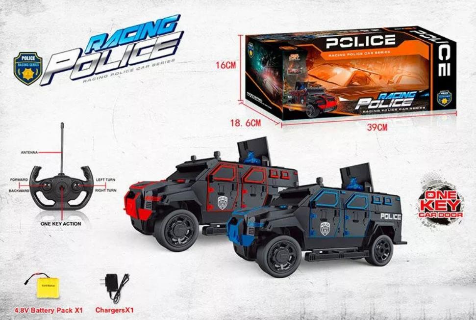 Машина джип поліція на радіокеруванні 666-710А, аккум.