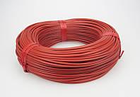 Карбоновый кабель К-12, R-33Ом/м., d-3,0 мм.нагреватель в силиконовой изоляции., фото 1