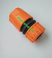 "Коннектор для шлангу зі стопом 3/4"" дюйма ""Presto Ps"" Primo - 5820 (orange, green)."