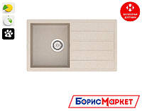 Высококачественная кухонная мойка из кварцевого камня VANKOR Easy EMP 02.76