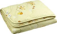 Одеяло шерстяное особо теплое детское 140х105 Руно 320.02ШУ_бежевий