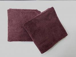 Набор полотенец для занятий спортом 30*30 см (2 штуки). Микрофибра 300 г/м2