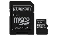 Карта памяти MicroSDHC 16GB UHS-I Class 10 Kingston Canvas Select