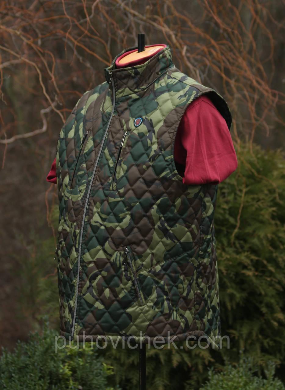 Модный жилет мужской под камуфляж интернет магазин Украина
