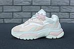 Женские кроссовки Ash Addict Sneakers (бело-розовые), фото 2