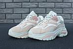 Женские кроссовки Ash Addict Sneakers (бело-розовые), фото 3