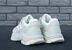 Женские кроссовки Ash Addict Sneakers (бело-розовые), фото 6