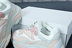Женские кроссовки Ash Addict Sneakers (бело-розовые), фото 7