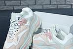 Женские кроссовки Ash Addict Sneakers (бело-розовые), фото 8