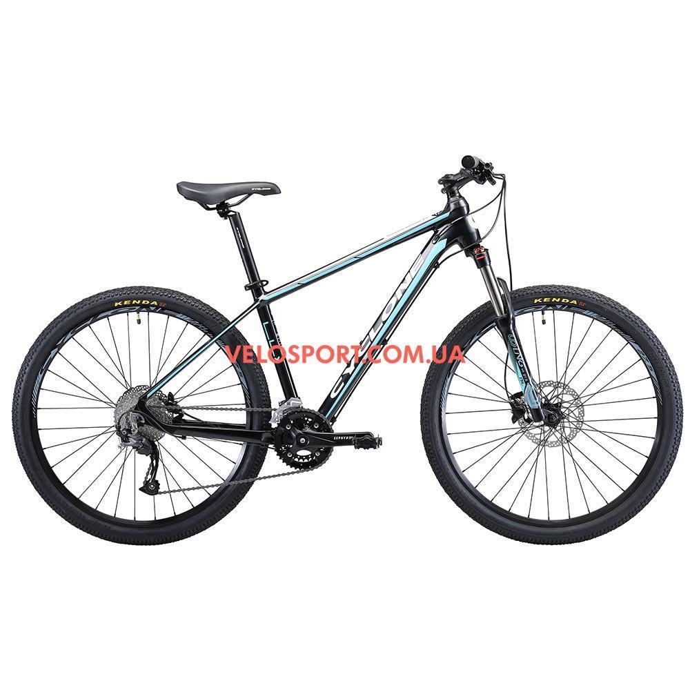 """Горный велосипед Cyclone LLX 27.5 дюймов 17"""" черно-синий"""