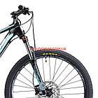 """Горный велосипед Cyclone LLX 27.5 дюймов 17"""" черно-синий, фото 2"""