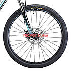 """Горный велосипед Cyclone LLX 27.5 дюймов 17"""" черно-синий, фото 3"""