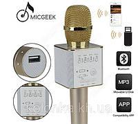 Беспроводной микрофон - караоке Q9  ,ОТЛИЧНЫЙ ПОДАРОК ,ЧИСТЫЙ ЗВУК
