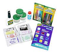 Crayola Model Magic Gooey Fun детский набор для создания блестящих лизунов-слаймов крайола