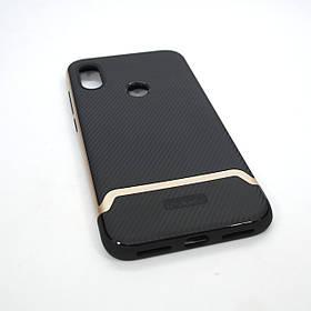 Чохол iPaky Xiaomi Redmi Note 6 Pro black / gold