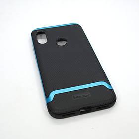 Чохол iPaky Xiaomi Redmi Note 6 Pro black / blue