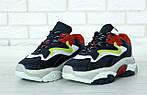 Женские кроссовки Ash Addict Sneakers (Сине-белые), фото 3