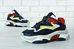 Женские кроссовки Ash Addict Sneakers (Сине-белые), фото 6