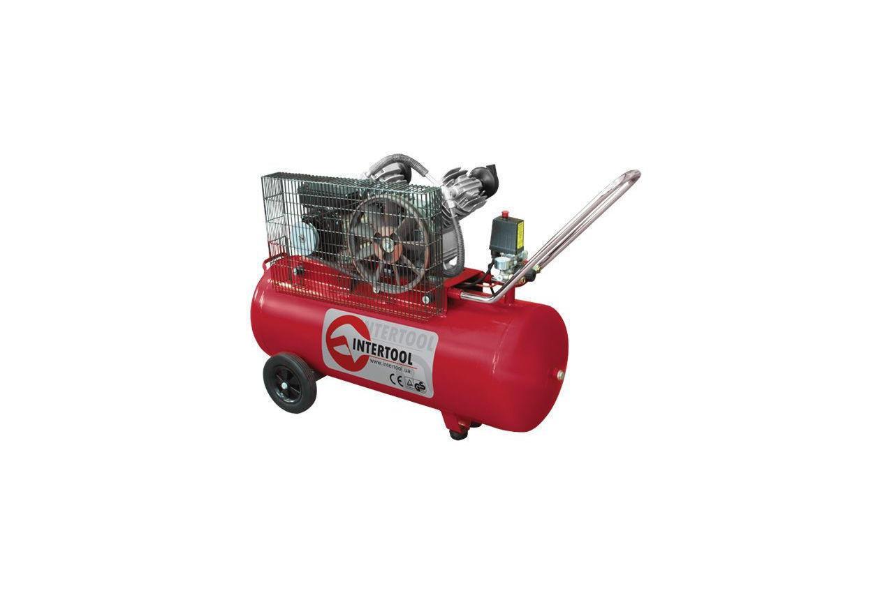 Компрессор Intertool - 100 л x 3 кВт